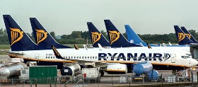 Ryanair all'aeroporto di Londra Stansted
