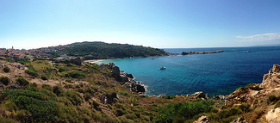 Panorama in Gallura