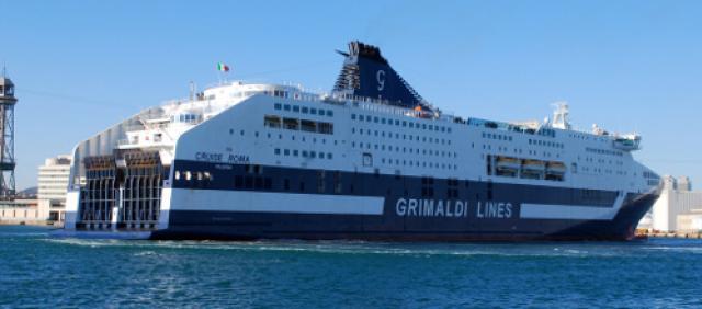 Grimaldi Lines al porto