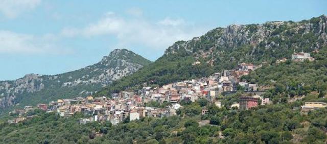 Veduta di Baunei