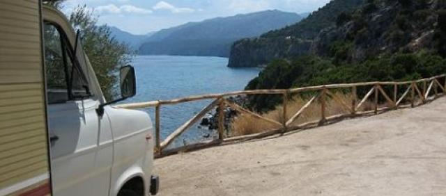Camper Sardegna Cala Gonone