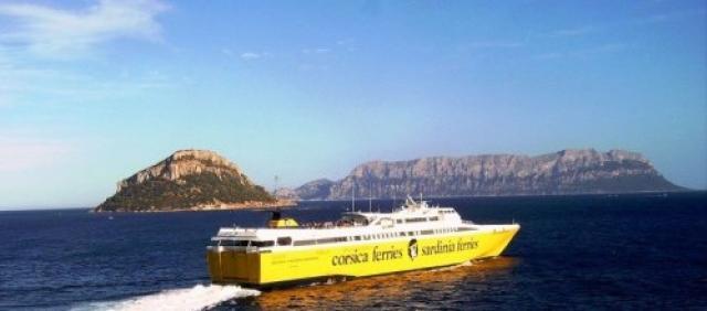 Corsica Ferries a Olbia