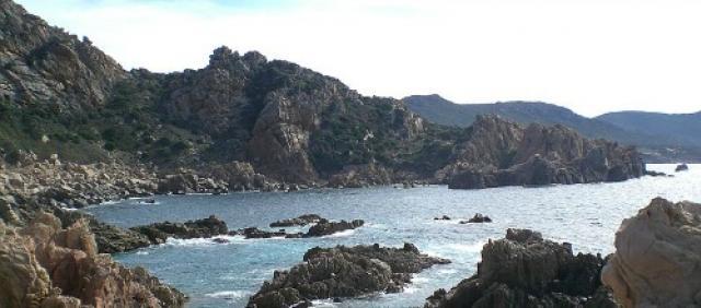 Conformazioni rocciose a Costa Paradiso