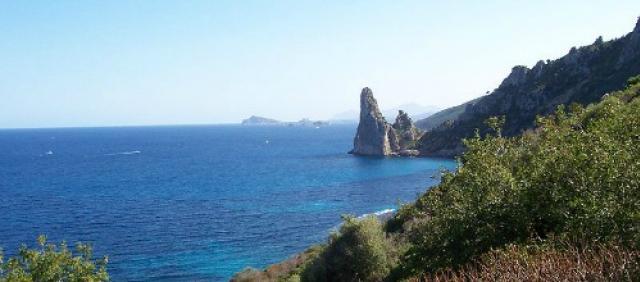 Panorama costiero dall'Orientale Sarda