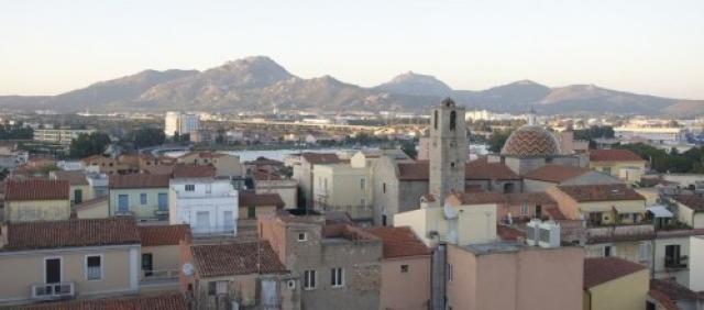 Olbia veduta del centro storico