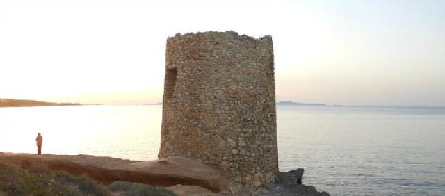Torre di Abbacurrente a Porto Torres