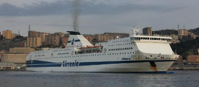 Nave Athara della flotta Tirrenia