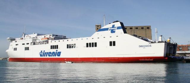 Nave Dimonios della flotta Tirrenia