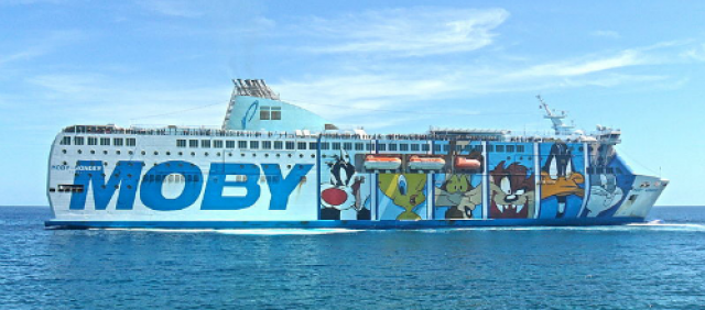 Traghetto Moby Wonder