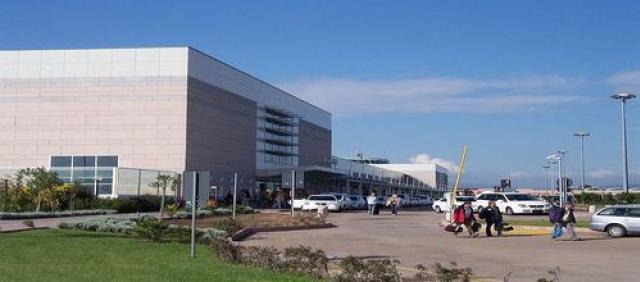 Aeroporto di Olbia - vista