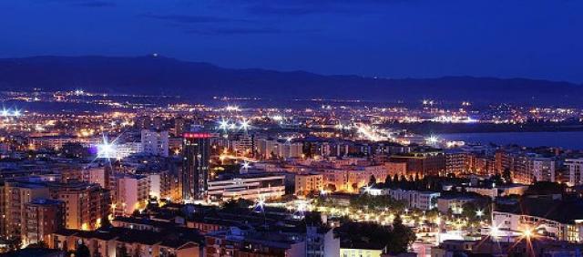 Cagliari - Vista serale