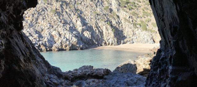Cala Domestica - Galleria dei minatori - Spiagge di Iglesias