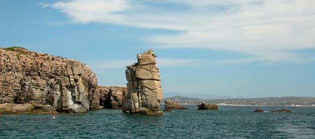Le Colonne - Panorama dell'isola di San Pietro