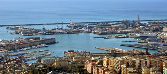 Porto di Genova - Liguria - Traghetti Sardegna