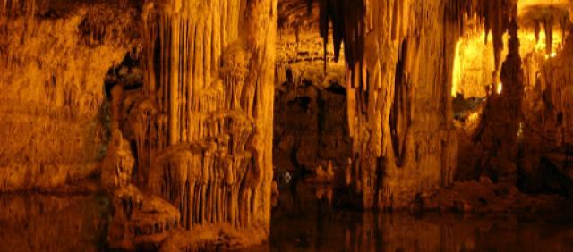 Grotte di Nettuno - Sala interna