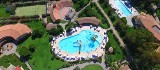 Horse Country Resort - Villaggio dall'alto