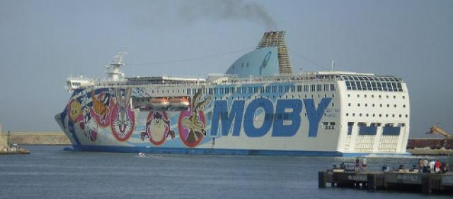 Moby - Navi veloci - Traversata diurna