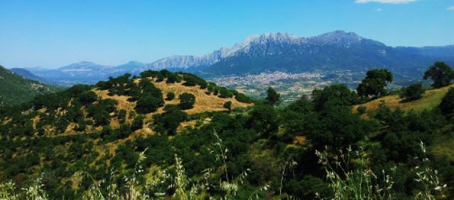 Oliena - Supramonte di Oliena - Paesaggio