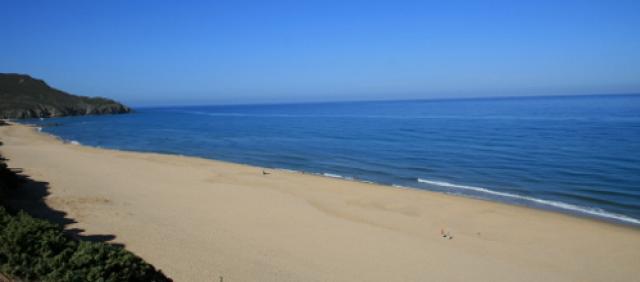 Spiaggia di Scivu - Costa Verde