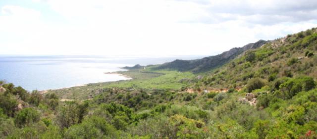 Siniscola - Panorama di Capo Comino