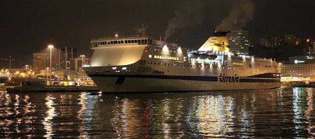 Tirrenia - Imbarco al Porto di Genova