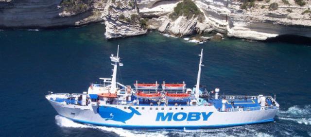 Traghetto Moby -  Tratta Santa Teresa - Bonifacio