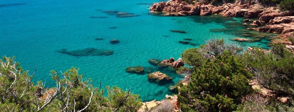 Cala in Ogliastra Sardegna