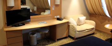 IMG Cabine, suites e poltrone: tutte le sistemazioni in nave e traghetto