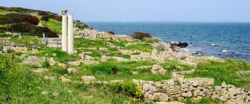 IMG Tharros - L'area archeologica e la spiaggia di San Giovanni
